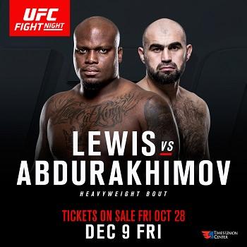 Lewis VS Abdurakhimov